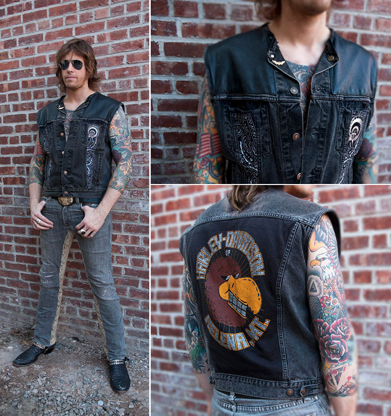 Rock Vests U0026 Moto Jackets